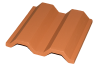 Two Curve 8x8 Roof Tile