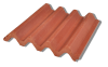 Four Curve 8x8 Roof Tile